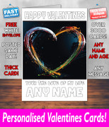 HIS OR HERS VALENTINES DAY CARD KE57 Valentines Day Card