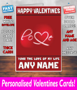 His Or Hers Valentines Day Card Ke104 Valentines Day Card