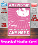 HIS OR HERS VALENTINES DAY CARD KE112 Valentines Day Card