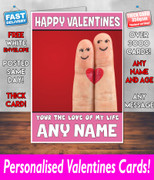 HIS OR HERS VALENTINES DAY CARD KE114 Valentines Day Card