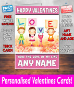 HIS OR HERS VALENTINES DAY CARD KE117 Valentines Day Card