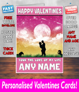 HIS OR HERS VALENTINES DAY CARD KE121 Valentines Day Card