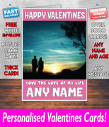 His Or Hers Valentines Day Card Ke124 Valentines Day Card