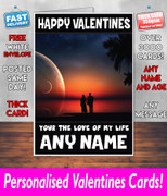 HIS OR HERS VALENTINES DAY CARD KE130 Valentines Day Card