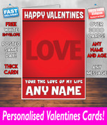 HIS OR HERS VALENTINES DAY CARD KE141 Valentines Day Card
