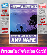HIS OR HERS VALENTINES DAY CARD KE142 Valentines Day Card