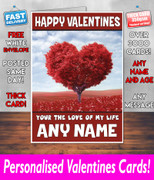 HIS OR HERS VALENTINES DAY CARD KE144 Valentines Day Card