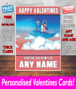 HIS OR HERS VALENTINES DAY CARD KE148 Valentines Day Card