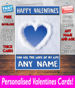His Or Hers Valentines Day Card Ke152 Valentines Day Card