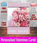HIS OR HERS VALENTINES DAY CARD KE154 Valentines Day Card