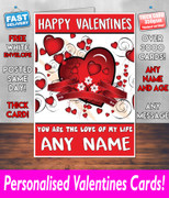 HIS OR HERS VALENTINES DAY CARD KE159 Valentines Day Card
