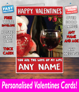 HIS OR HERS VALENTINES DAY CARD KE177 Valentines Day Card