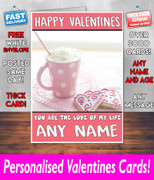 HIS OR HERS VALENTINES DAY CARD KE216 Valentines Day Card