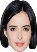 KRYSTEN RITTER 2017 - Bollywood Face Mask
