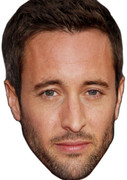 Alex O Loughlin4 2017 Celebrity Face Mask