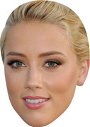 Amber Heard MH 2017 Celebrity Face Mask