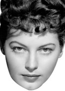 Ava Gardner2 Celebrity Face Mask