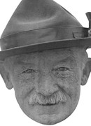 Baden Powell  Scouts Founder Celebrity Face Mask