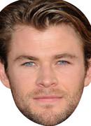 Chris Hemsworth Celebrity Face Mask