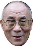 Dalai Lama Celebrity Face Mask