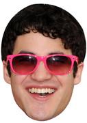 Darren Criss Movie 2017 Celebrity Face Mask