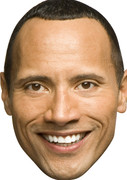 dwayne johnson (2) Celebrity Face Mask