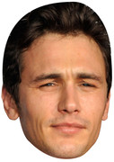 James Franco 58 Celebrity Face Mask