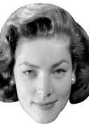Lauren Bacall Celebrity Face Mask