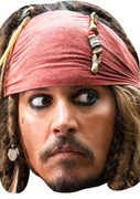 Pirates  Johnny Depp Celebrity Face Mask