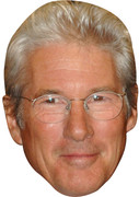 Richard Gere 2017 Celebrity Face Mask