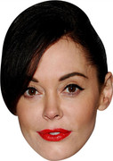 Rose Mcgowan MH (2) 2017 Celebrity Face Mask