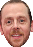 Simon Pegg (2) Celebrity Face Mask