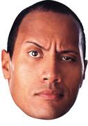 The Rock Celebrity Face Mask