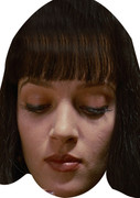 Uma Pulp Fiction Celebrity Face Mask