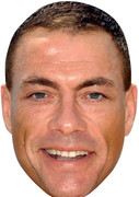 Van Damme Celebrity Face Mask