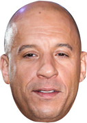 Vin Diesel Fast & Furious Celebrity Face Mask