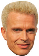 Billy Idol  Music Celebrity Face Mask
