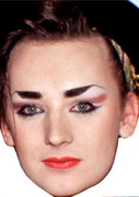 Boygeorge Portable  Music Celebrity Face Mask