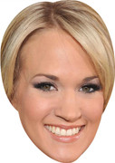 Carrie Underwood MH 2017  Music Celebrity Face Mask