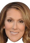 Celine Dion (2)  Music Celebrity Face Mask