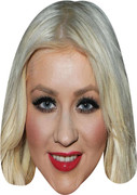 Christina Aguilera (2)  Music Celebrity Face Mask