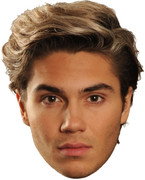 George Shelley 2017  Music Celebrity Face Mask