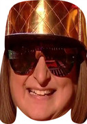 Honey G MH 2017  Music Celebrity Face Mask