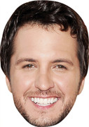 Luke Bryan MH 2017  Music Celebrity Face Mask
