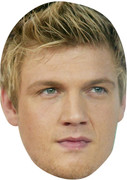 Nick Carter 2017 - The Saturdays - MUSIC Celebrity Face Mask