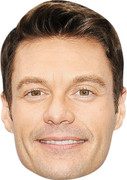 Ryan Seacrest MH 2017  Music Celebrity Face Mask