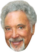 tom jones 2017 - MUSIC Celebrity Face Mask