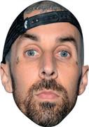 Travis Barker Blink MH  Music Celebrity Face Mask