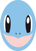 Squirtle 2017  Kids Celebrity Face Mask