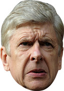 Arsne Wenger 2  Sports Celebrity Face Mask